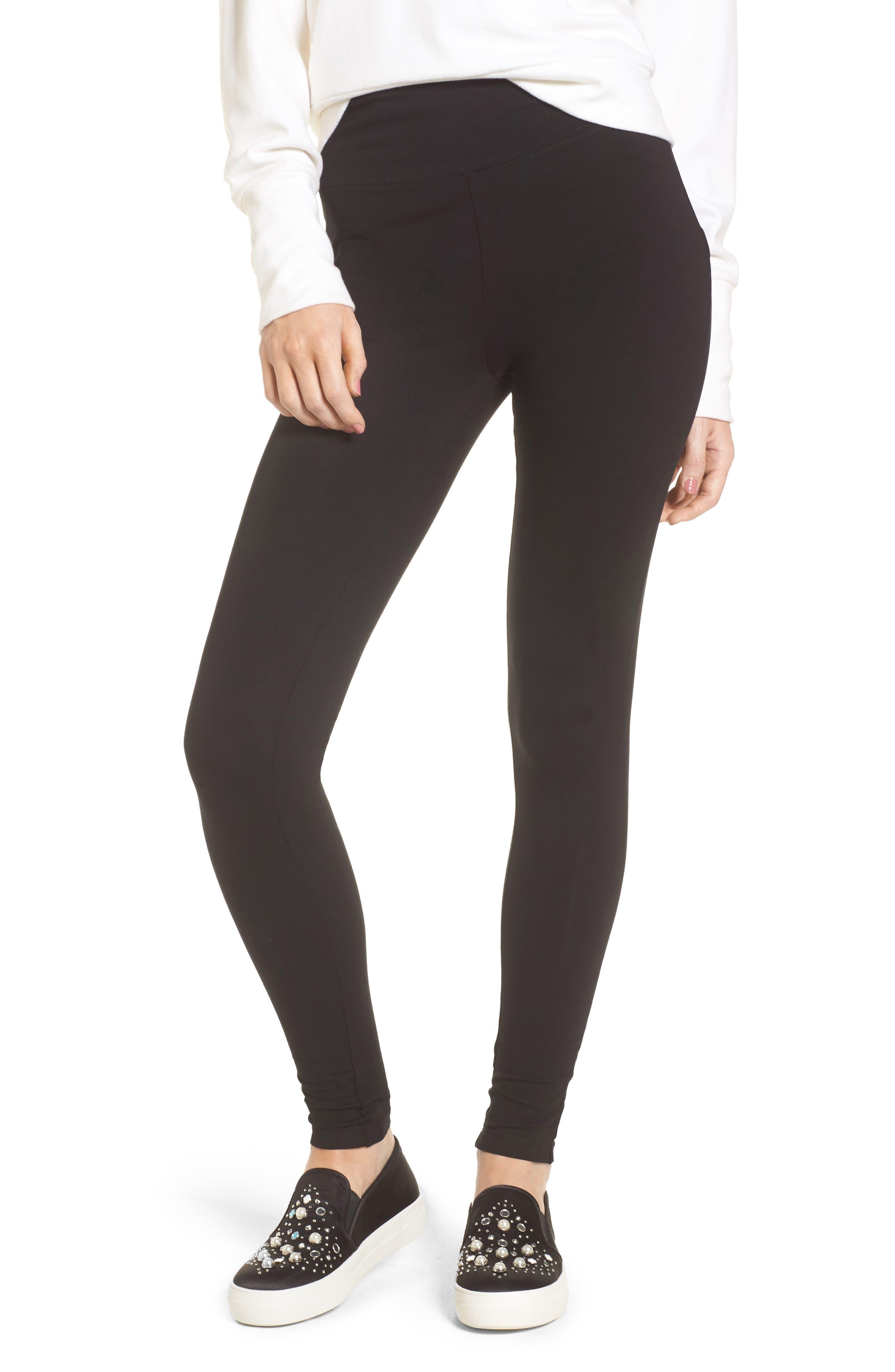 Plus Size Bp. High Rise Leggings, Black