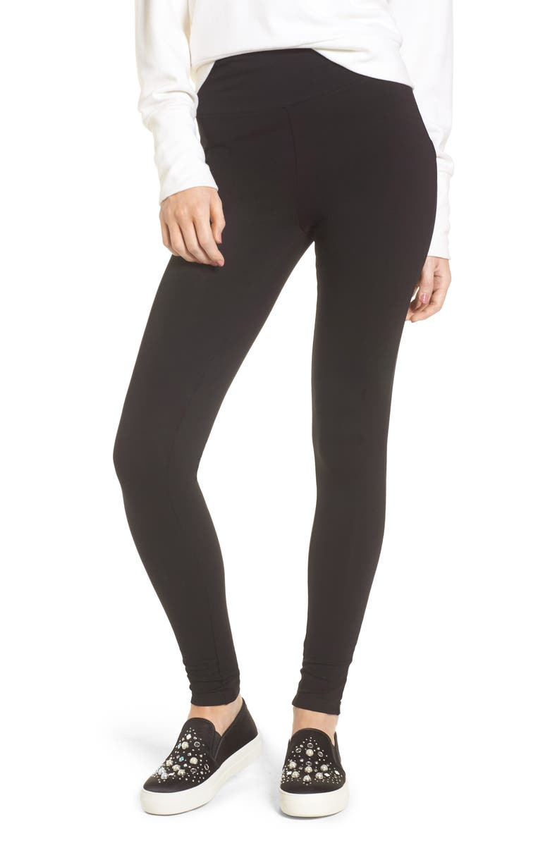 BP. High Rise Leggings, Main, color, BLACK