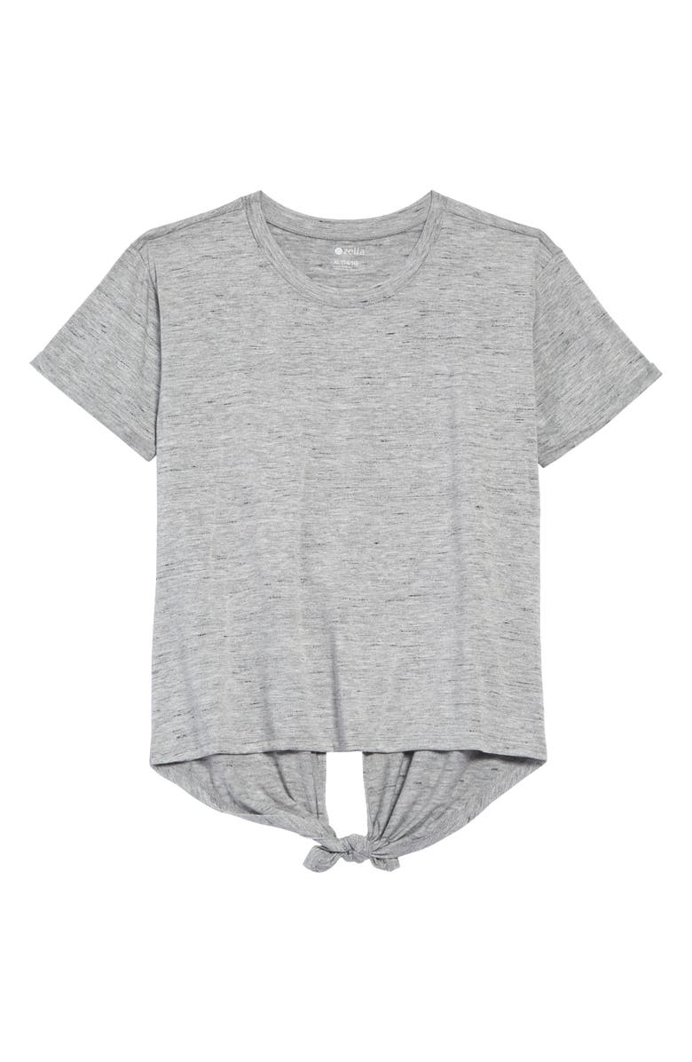 ZELLA GIRL Fly Away Crew T-Shirt, Main, color, GREY MEDIUM HEATHER