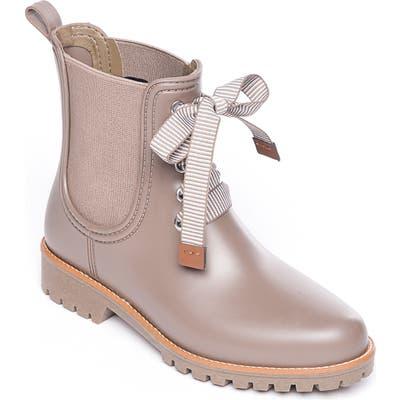 Bernardo Zina Rain Boot, Beige