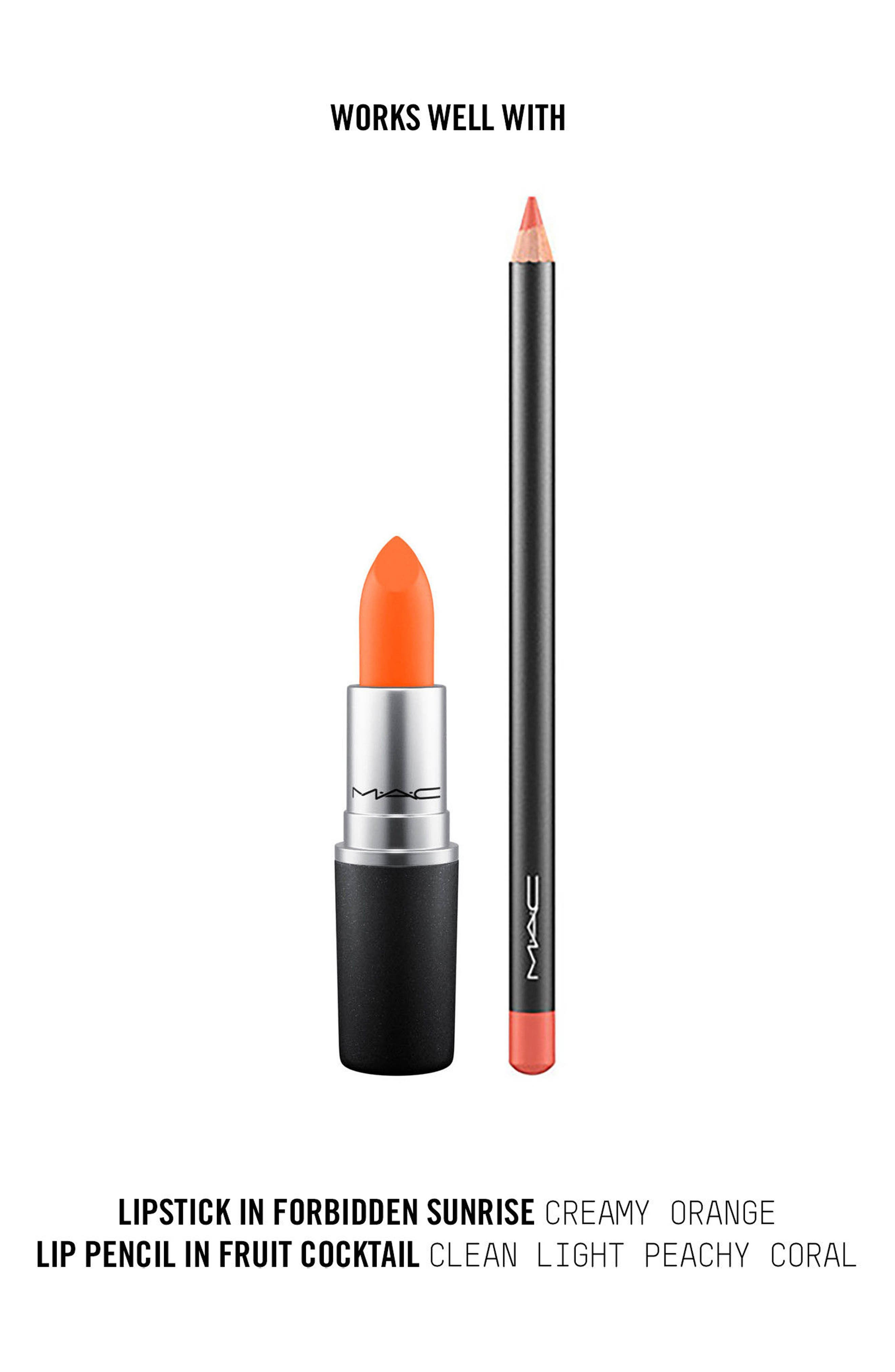 ,                             MAC Strip Down Nude Lipstick,                             Alternate thumbnail 824, color,                             805