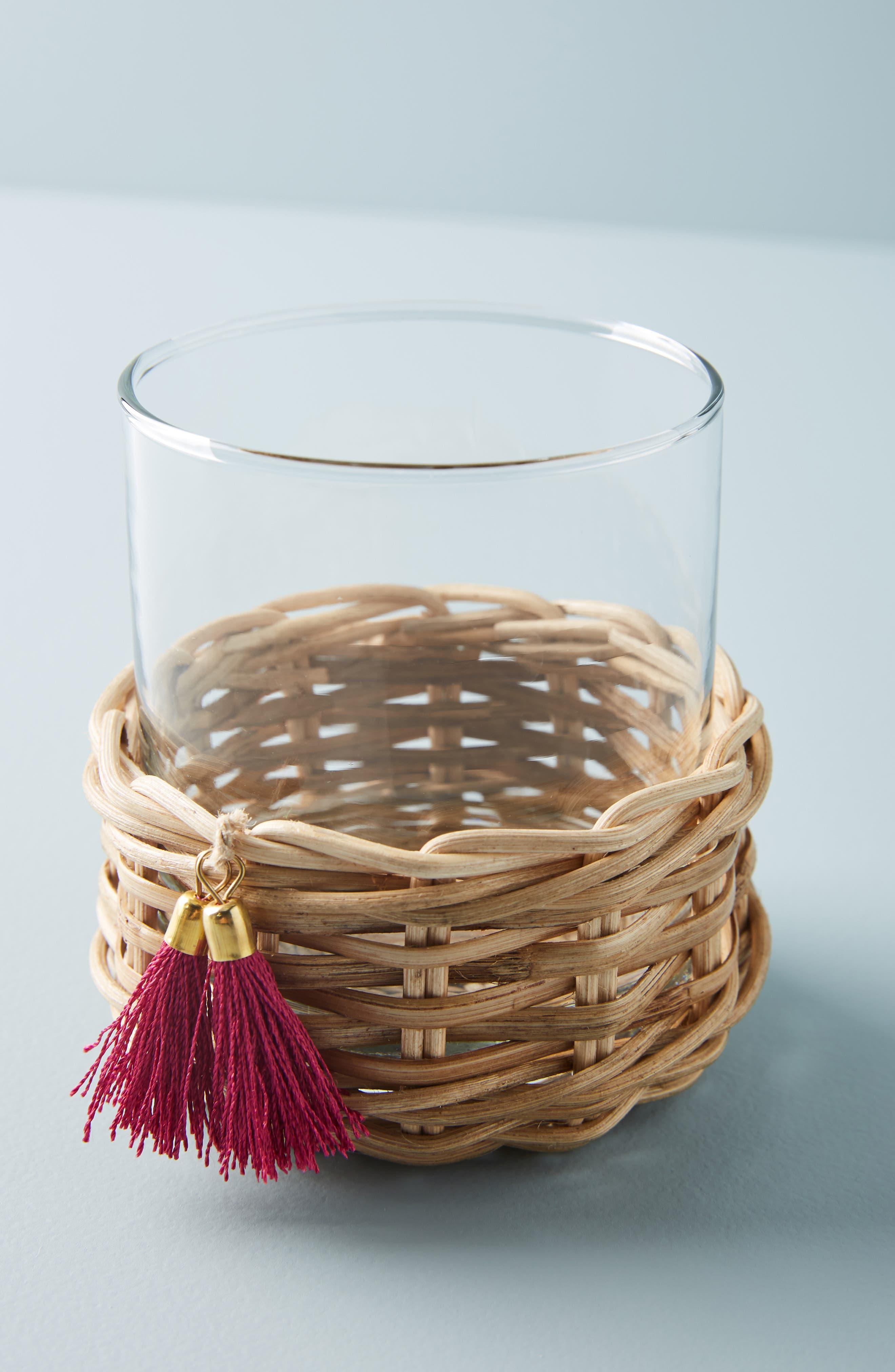 ,                             Elena Rattan Wrapped Glass,                             Main thumbnail 1, color,                             COMBO A- COOL
