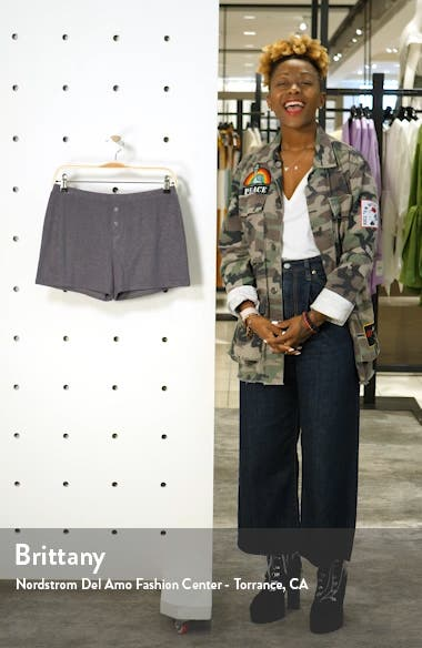 Fitted Cozy Lounge Shorts, sales video thumbnail