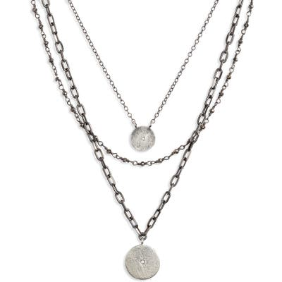 Ela Rae Triple Layer Necklace