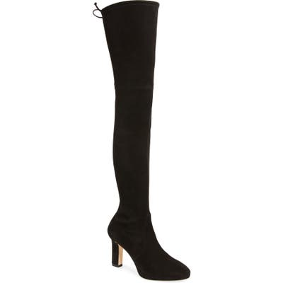 Stuart Weitzman Ledyland Over The Knee Boot- Black