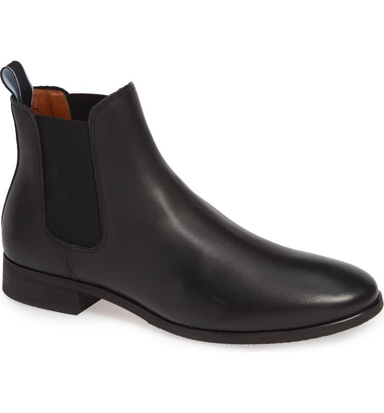 SHOE THE BEAR Arnie Chelsea Boot, Main, color, 001