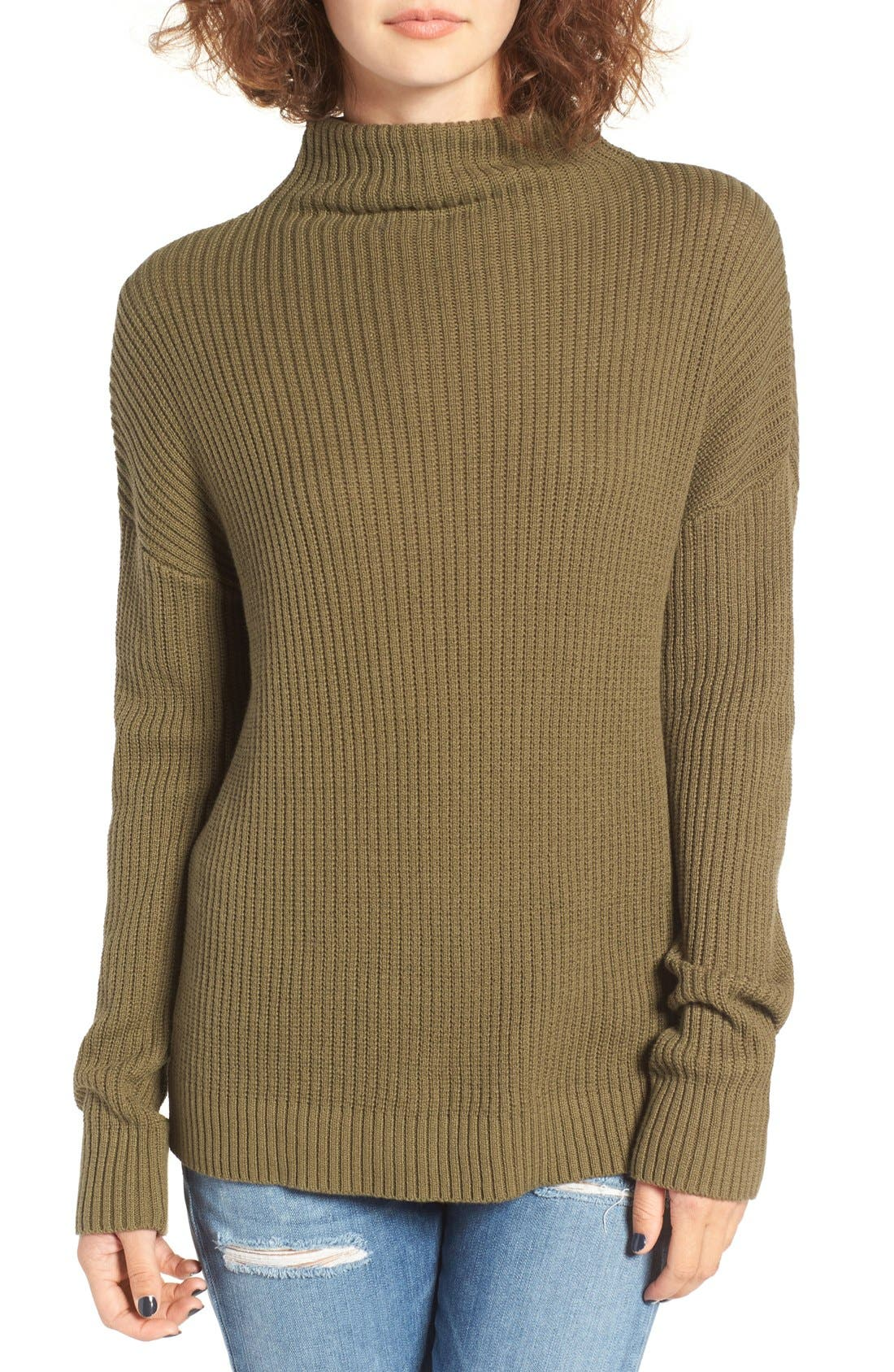,                             Mock Neck Sweater,                             Main thumbnail 16, color,                             311