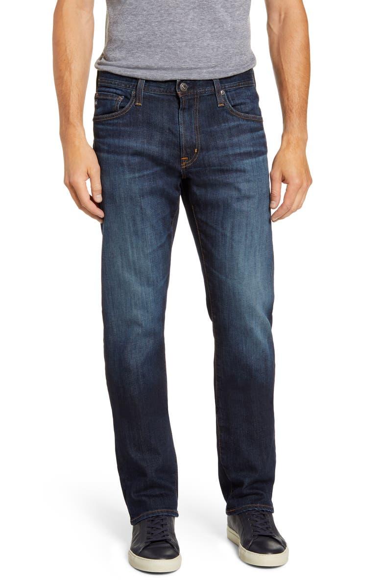 AG Protégé Straight Leg Jeans, Main, color, PROVE