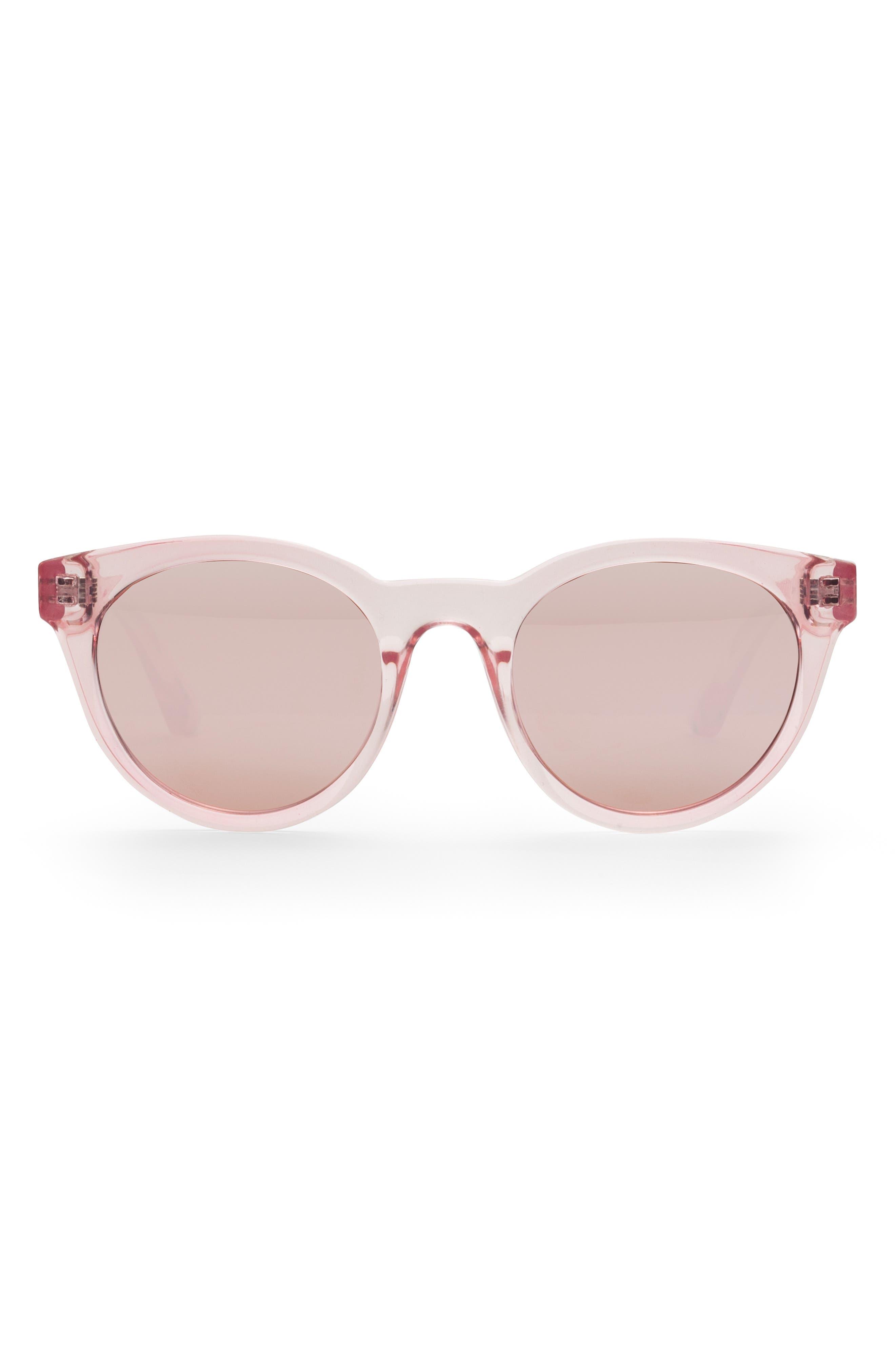 Junia Fizz Preppy 4m Round Sunglasses - Crystal Pink