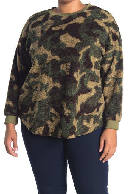 Image of RXB Camo Crew Neck Sweater