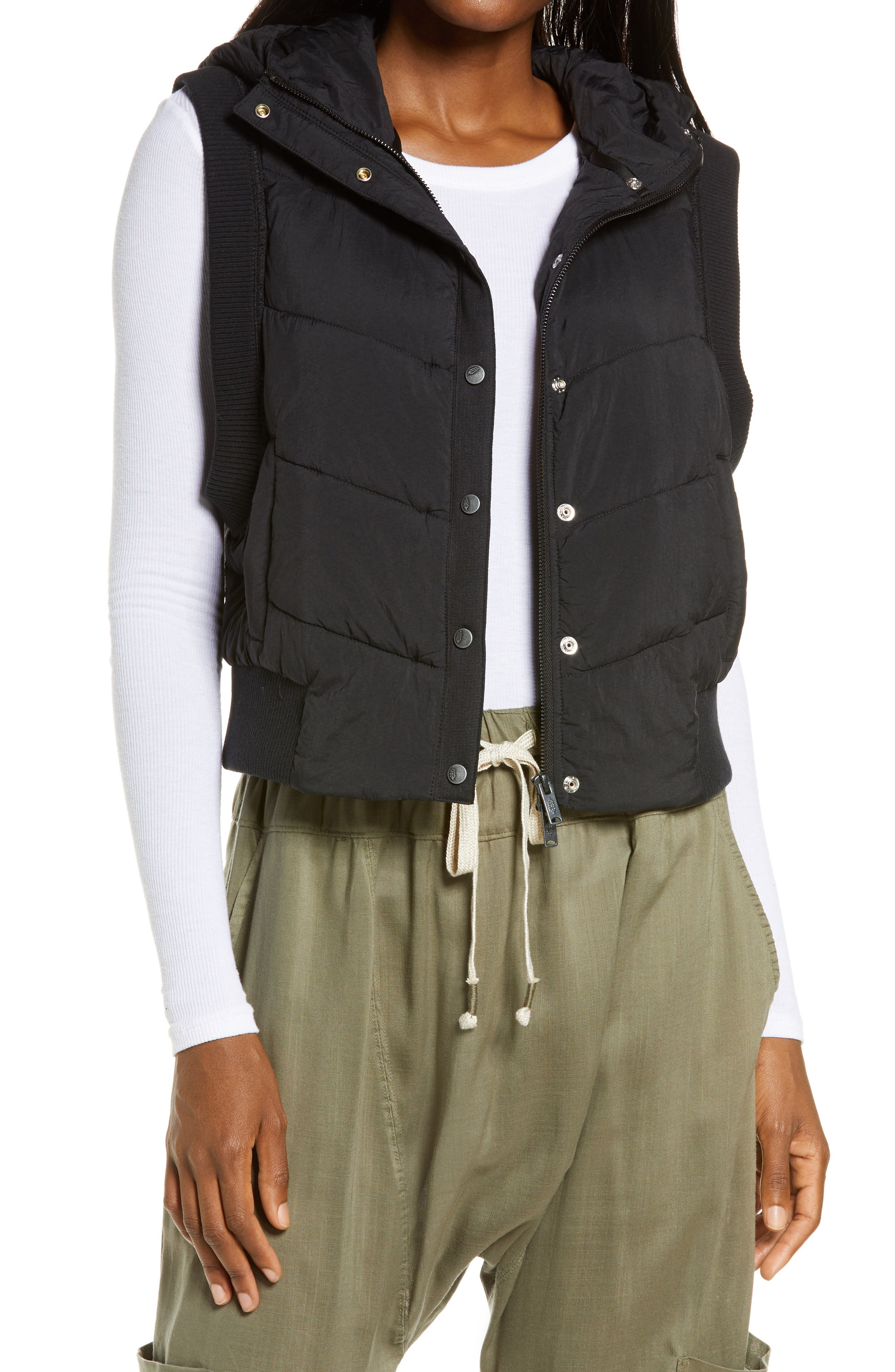 Image of Free People FP Movement Nature Seeker Hooded Puffer Vest