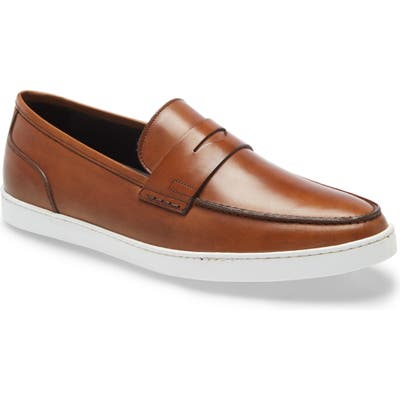 To Boot New York Chelsea Penny Loafer- Brown