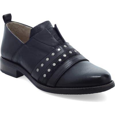 Miz Mooz Studded Slip-On - Black