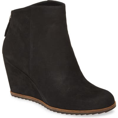 Linea Paolo Wesley Wedge Bootie, Black