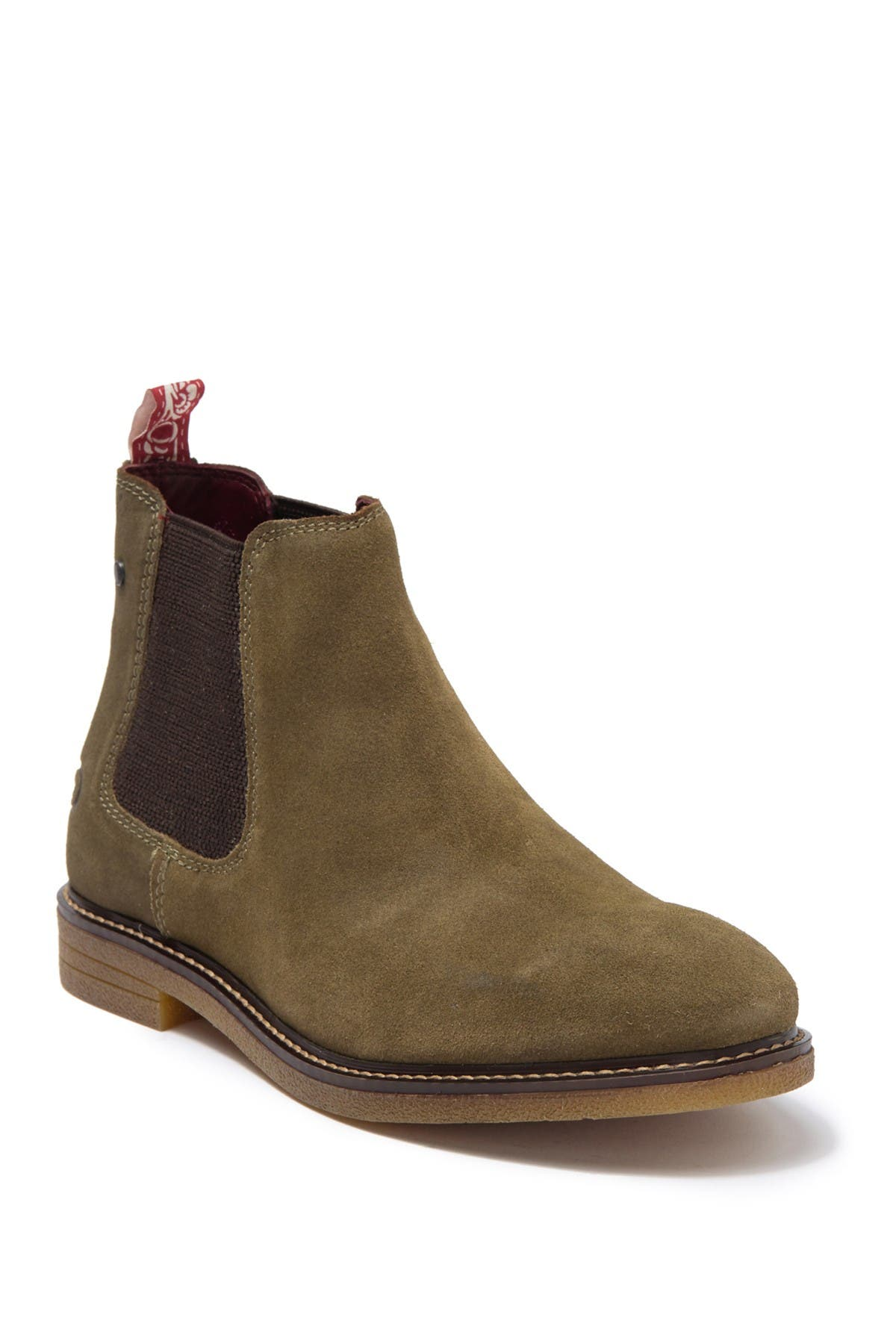 Image of Base London Lawson Suede Chelsea Boot