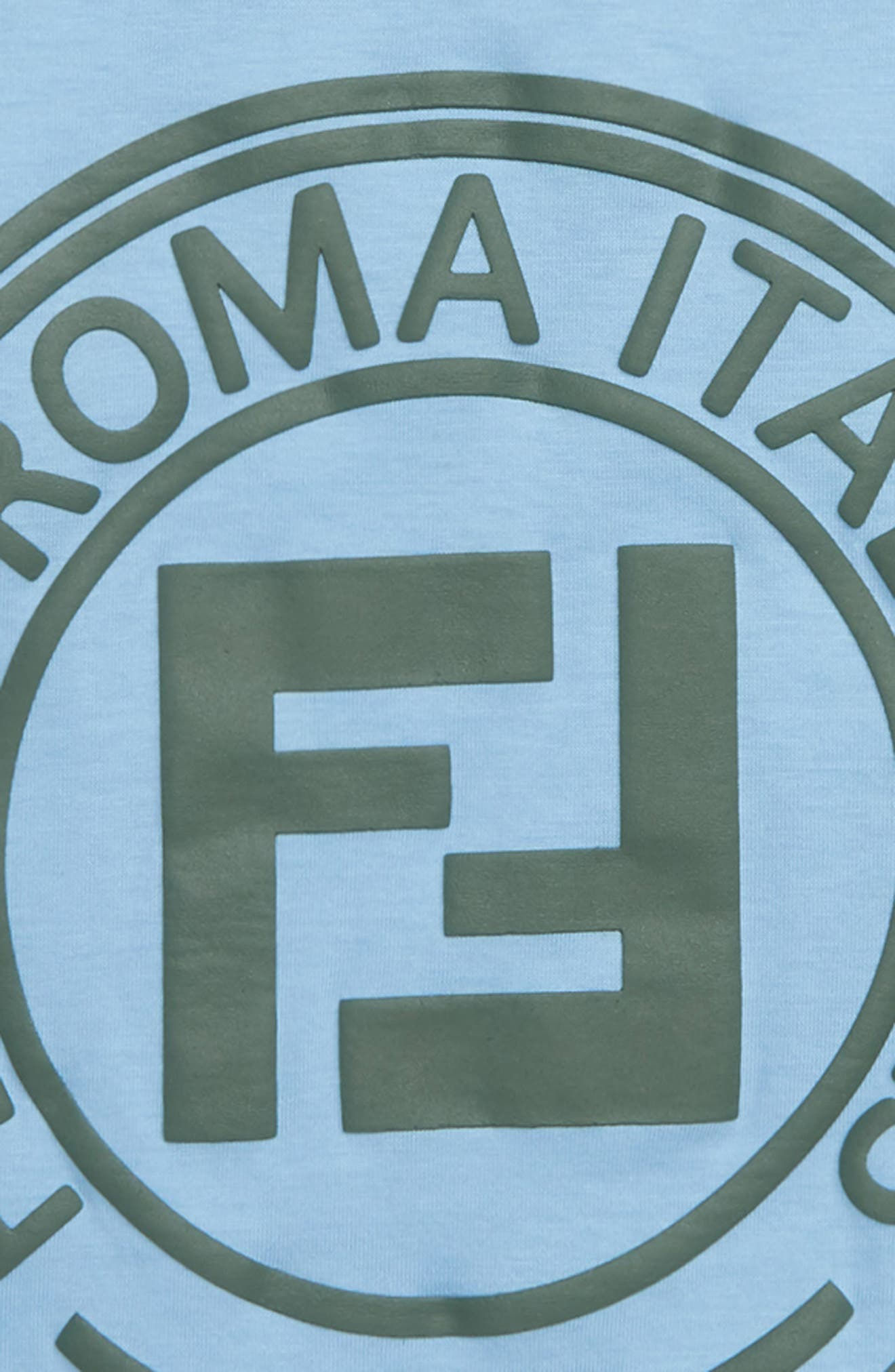 ,                             Logo T-Shirt,                             Alternate thumbnail 2, color,                             F15A3 BLUE