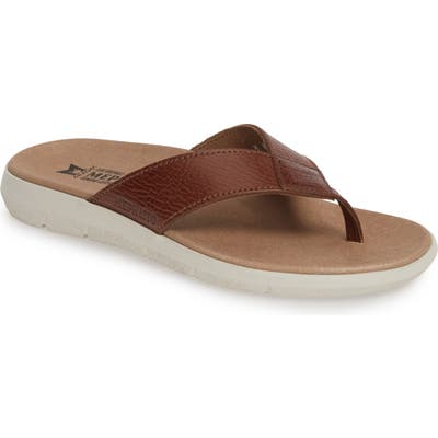 Mephisto Charly Flip Flop, Brown