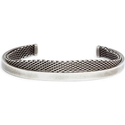 Title Of Work Mesh Cuff Bracelet