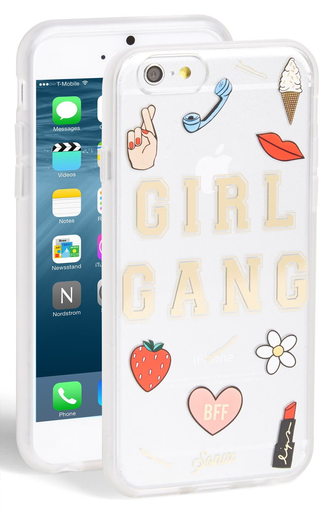 ,                             Girl Gang iPhone 6/6s Case,                             Main thumbnail 1, color,                             710