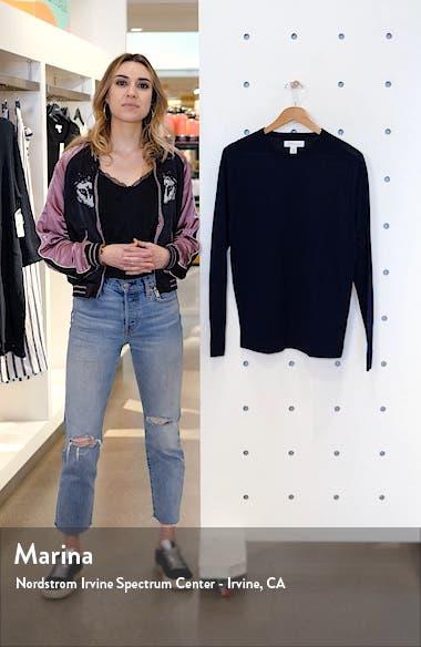 Merino Wool Blend Crewneck Sweater, sales video thumbnail
