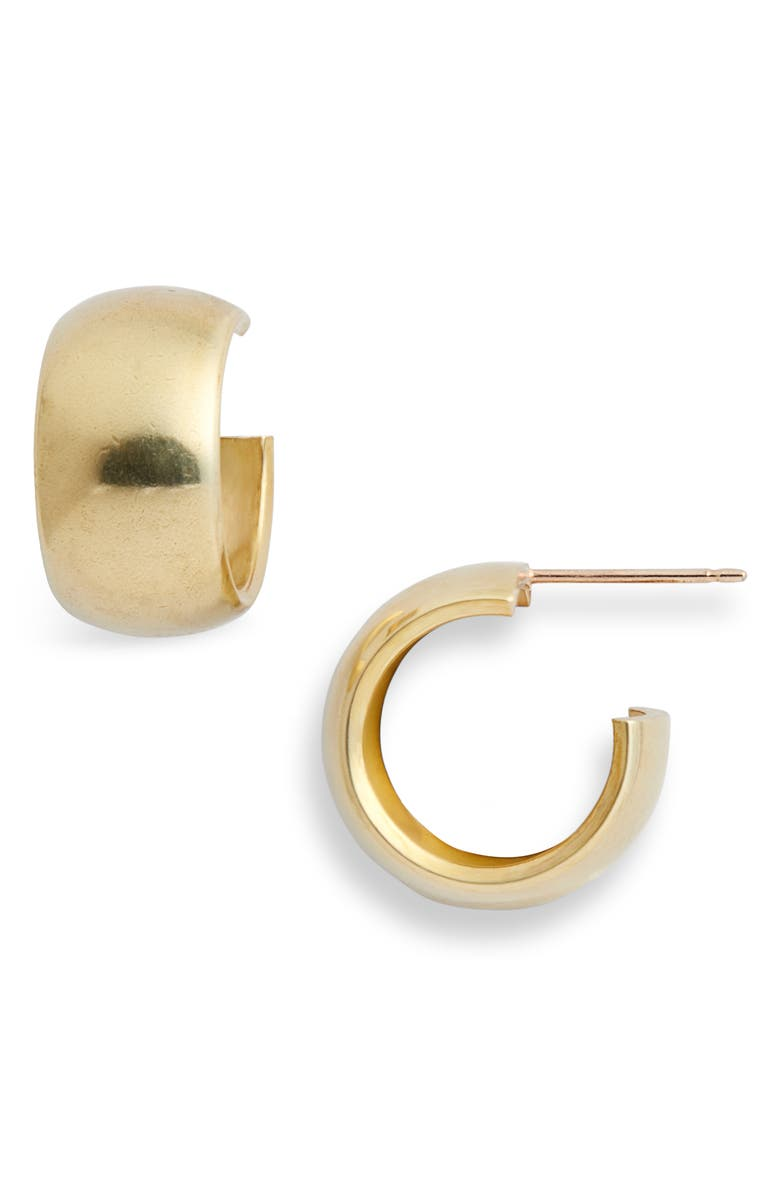 LAURA LOMBARDI Luna Hoop Earrings, Main, color, 710