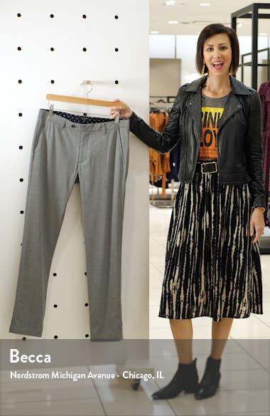 Slim Fit Flat Front Pants, sales video thumbnail