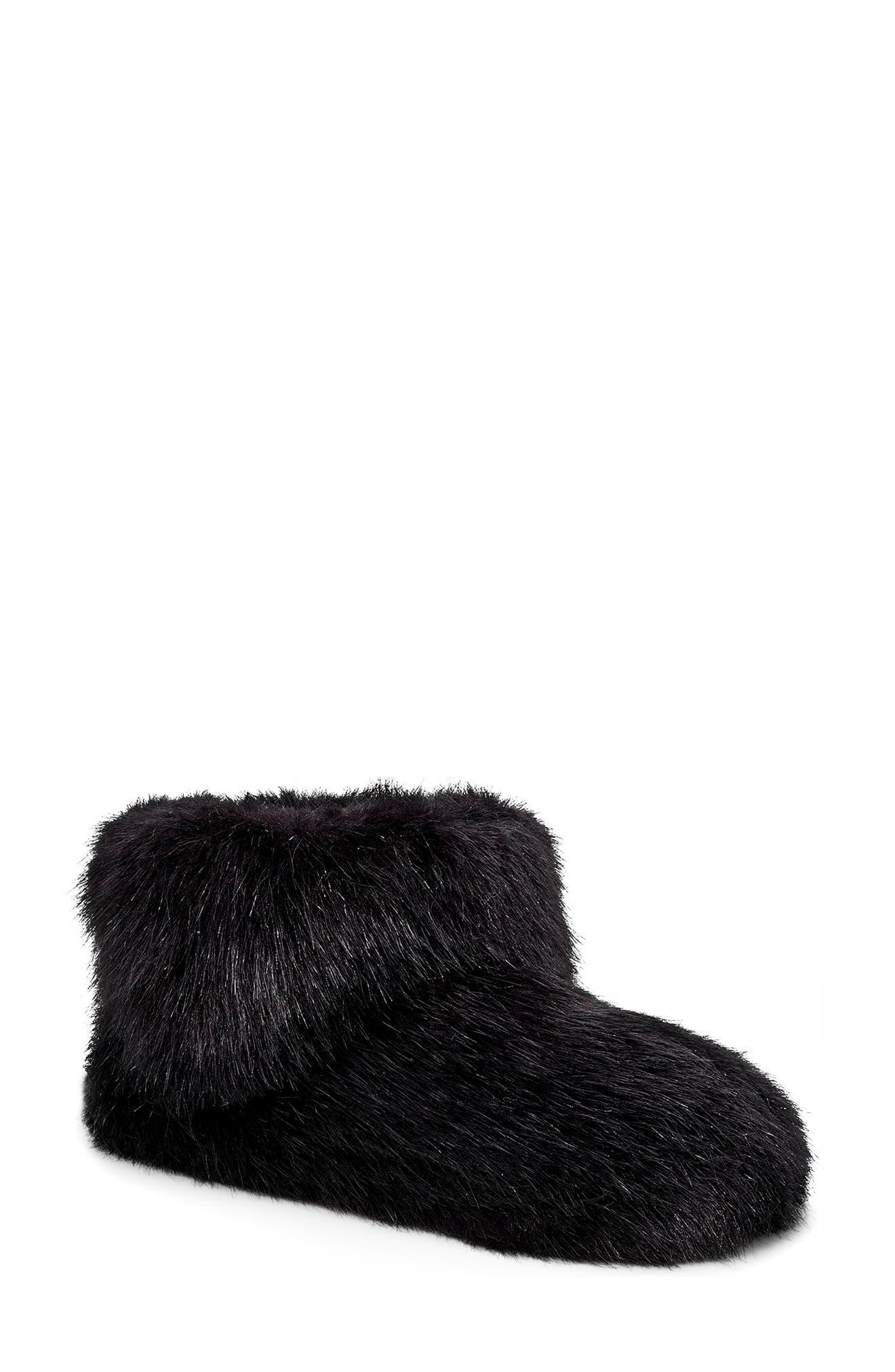 black ugg slippers