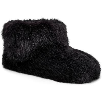 UGG Amary Faux Fur Slipper Bootie, Black