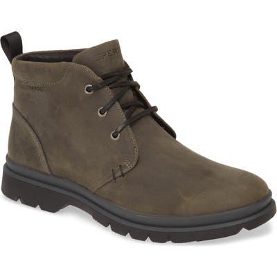 Sperry Watertown Waterproof Chukka Boot- Grey