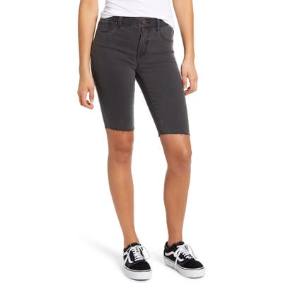 1822 Denim High Waist Total Fit Solution Bermuda Shorts, Green