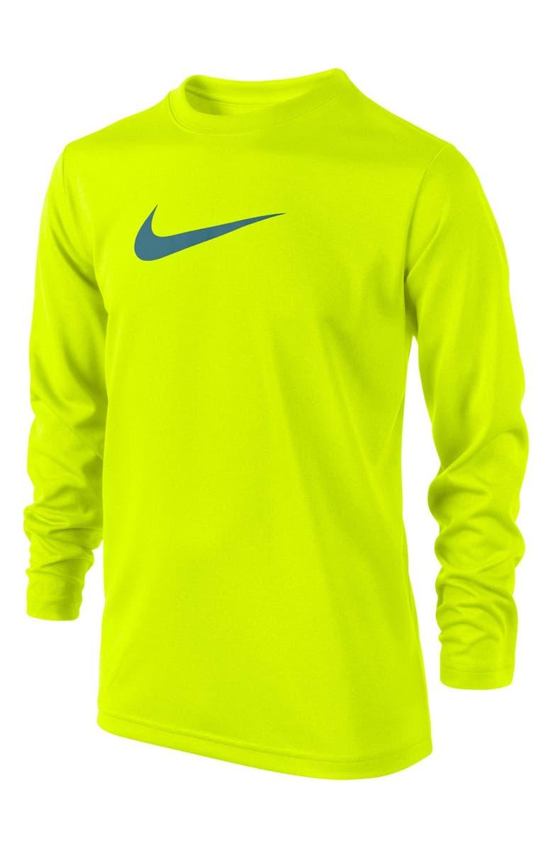 NIKE 'Legend' Lightweight T-Shirt, Main, color, 406