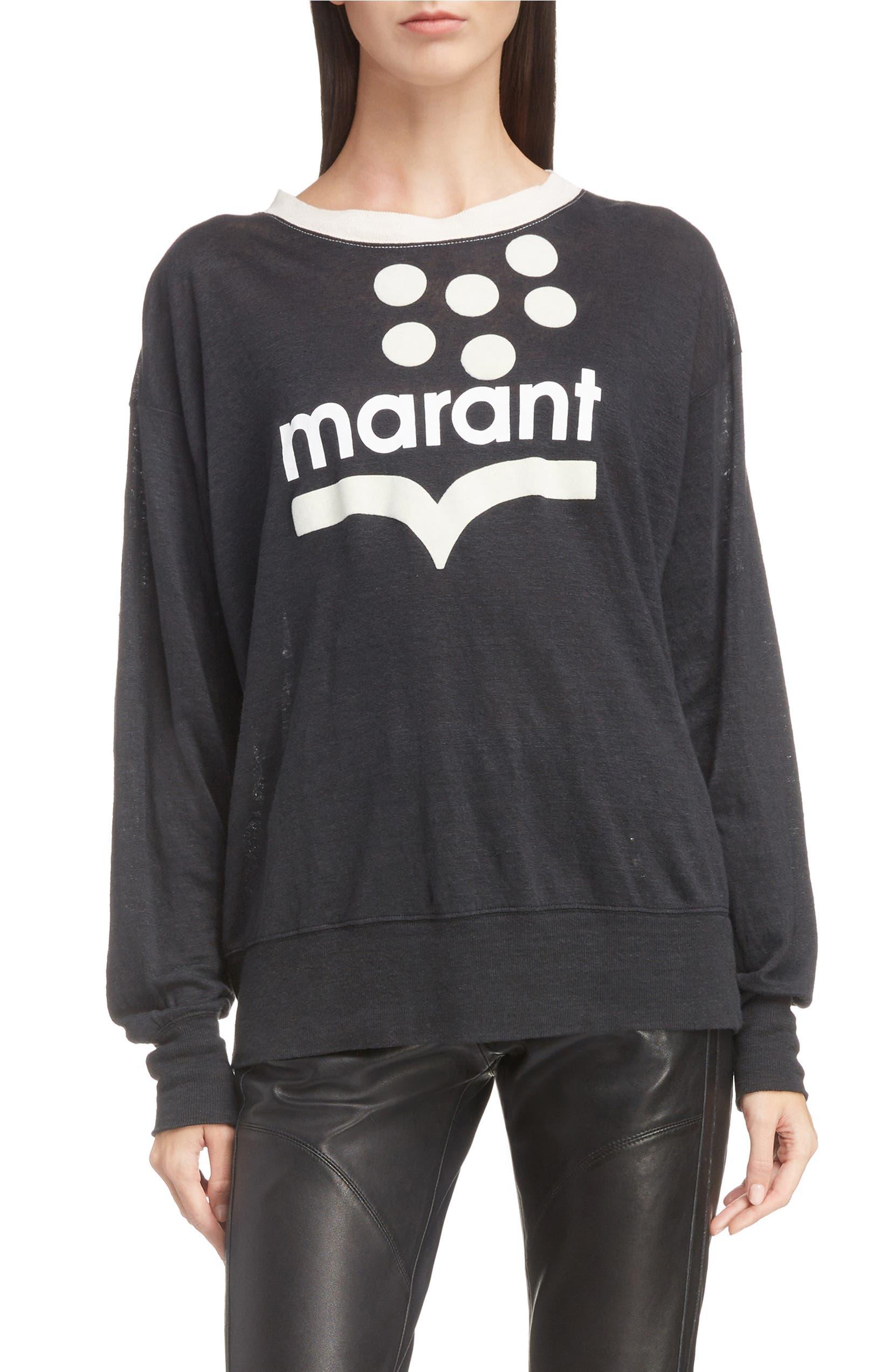 7d77be72 Isabel Marant Étoile Klowyn Logo Tee | Nordstrom