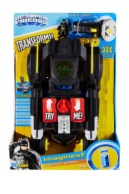 Image of Fisher-Price Imaginext(R) DC Super Friends(TM) Transforming Batmobil(TM) R/C