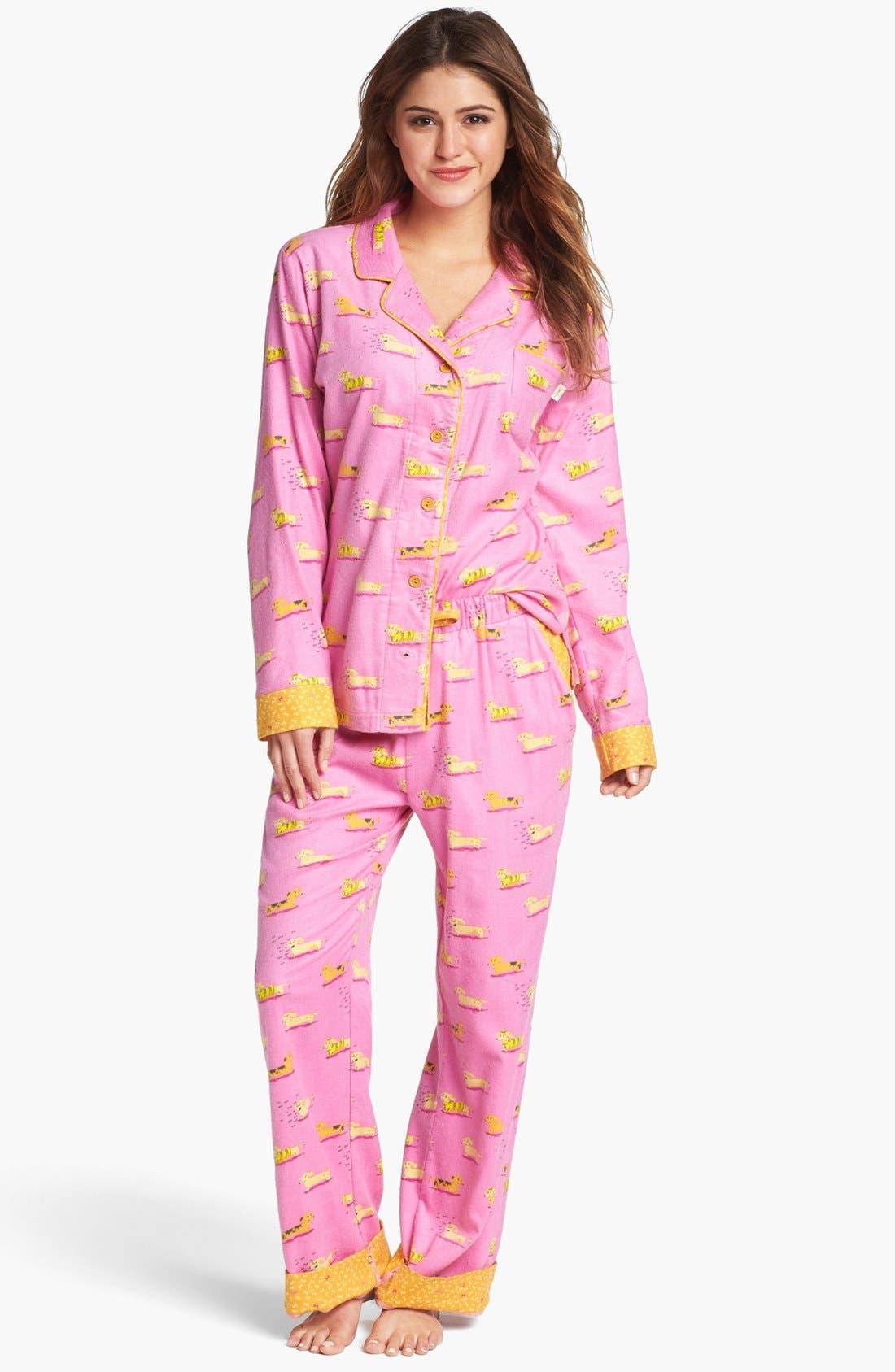 ,                             Flannel Pajamas,                             Main thumbnail 72, color,                             651