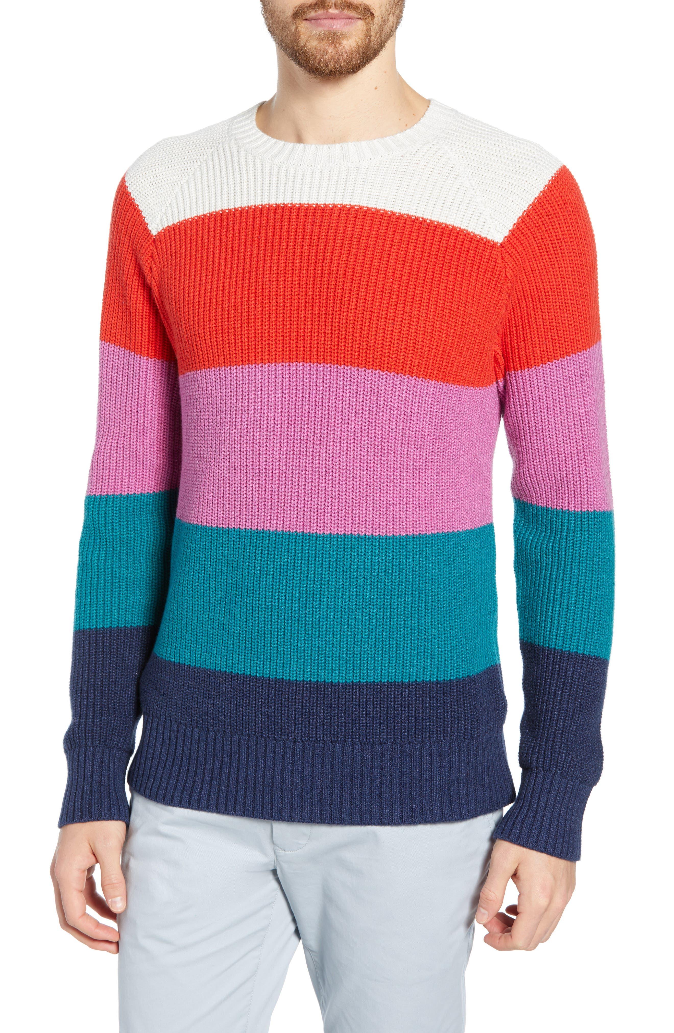 Bonobos Slim Fit Cotton & Cashmere Sweater, Blue