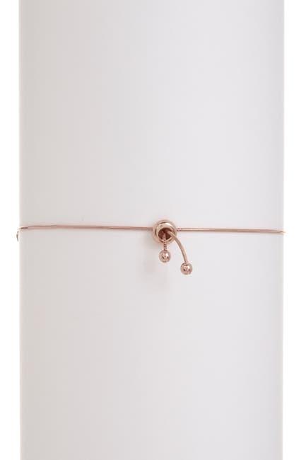 Image of Candela Rose Gold Plated Sterling Silver Pink Swarovski Crystal Bracelet