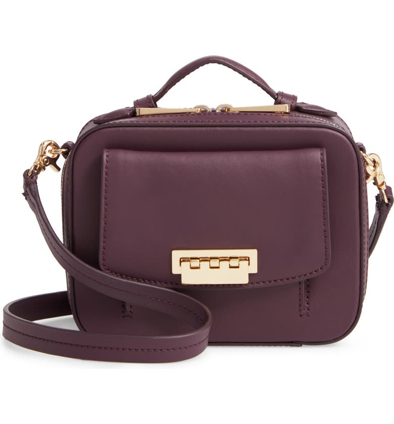 ZAC ZAC POSEN Earthette Small Box Leather Crossbody Bag, Main, color, 501