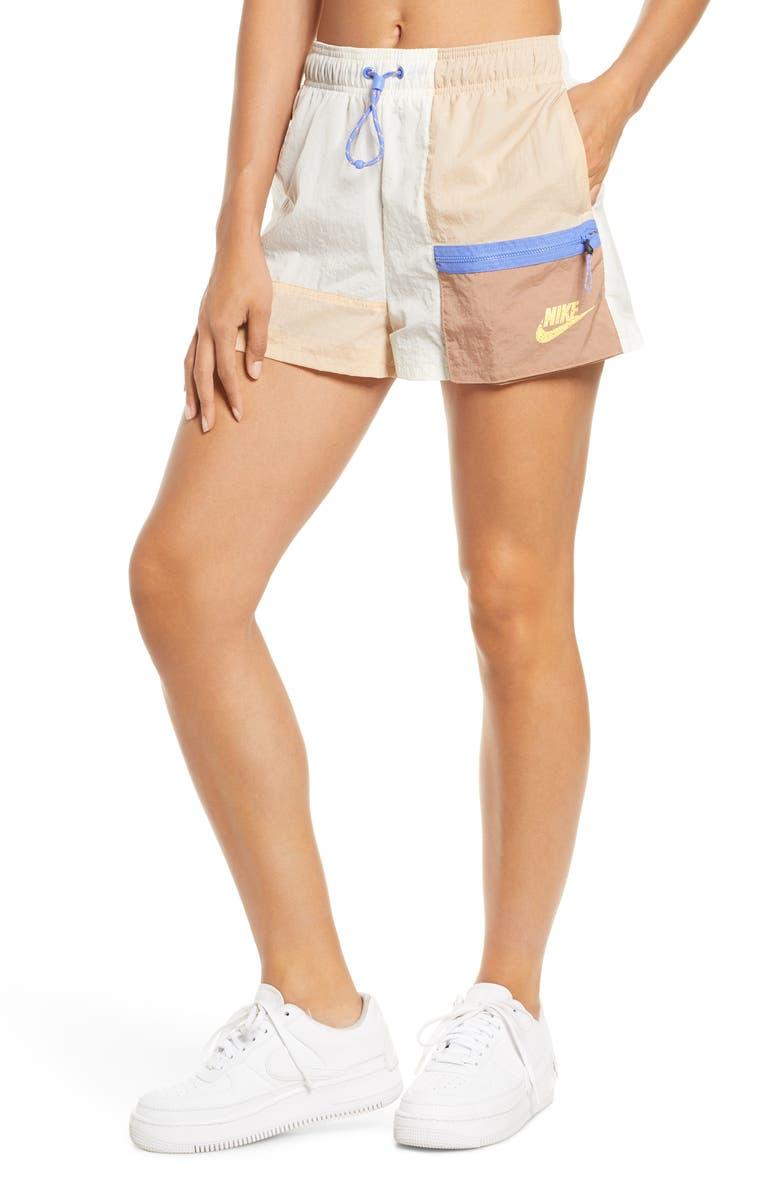 NIKE Sportswear Icon Clash Shorts, Main, color, 100