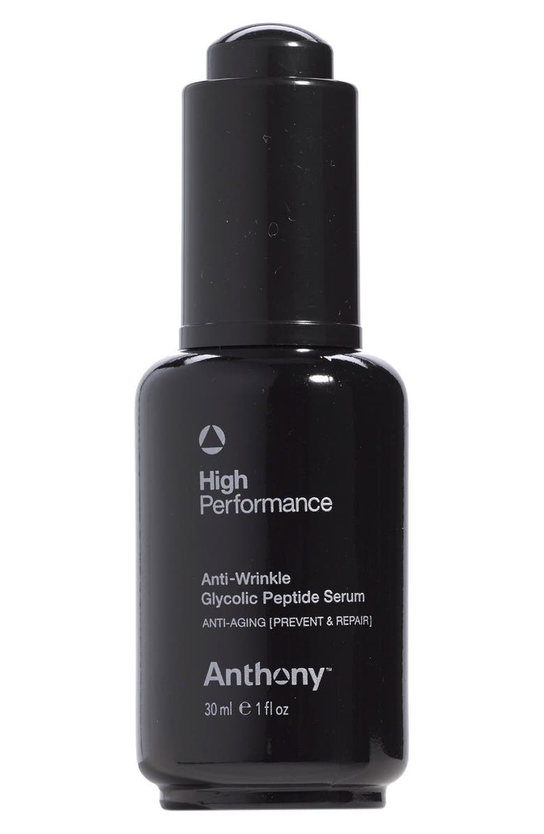 ANTHONY<SUP>™</SUP> High-Performance Anti-Wrinkle Glycolic Peptide Serum, Main, color, NO COLOR
