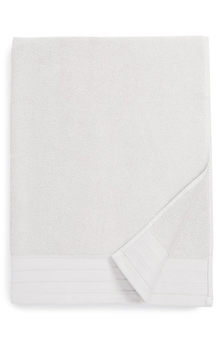 UGG<SUP>®</SUP> Classic Luxe Bath Towel, Main, color, STONE