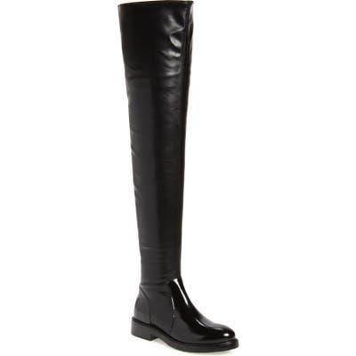 Jeffrey Campbell Lennard Thigh High Boot, Black