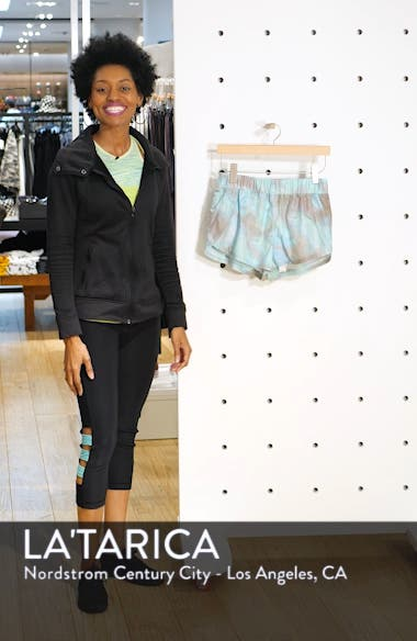 Free People Movement Fade Into You Shorts, sales video thumbnail