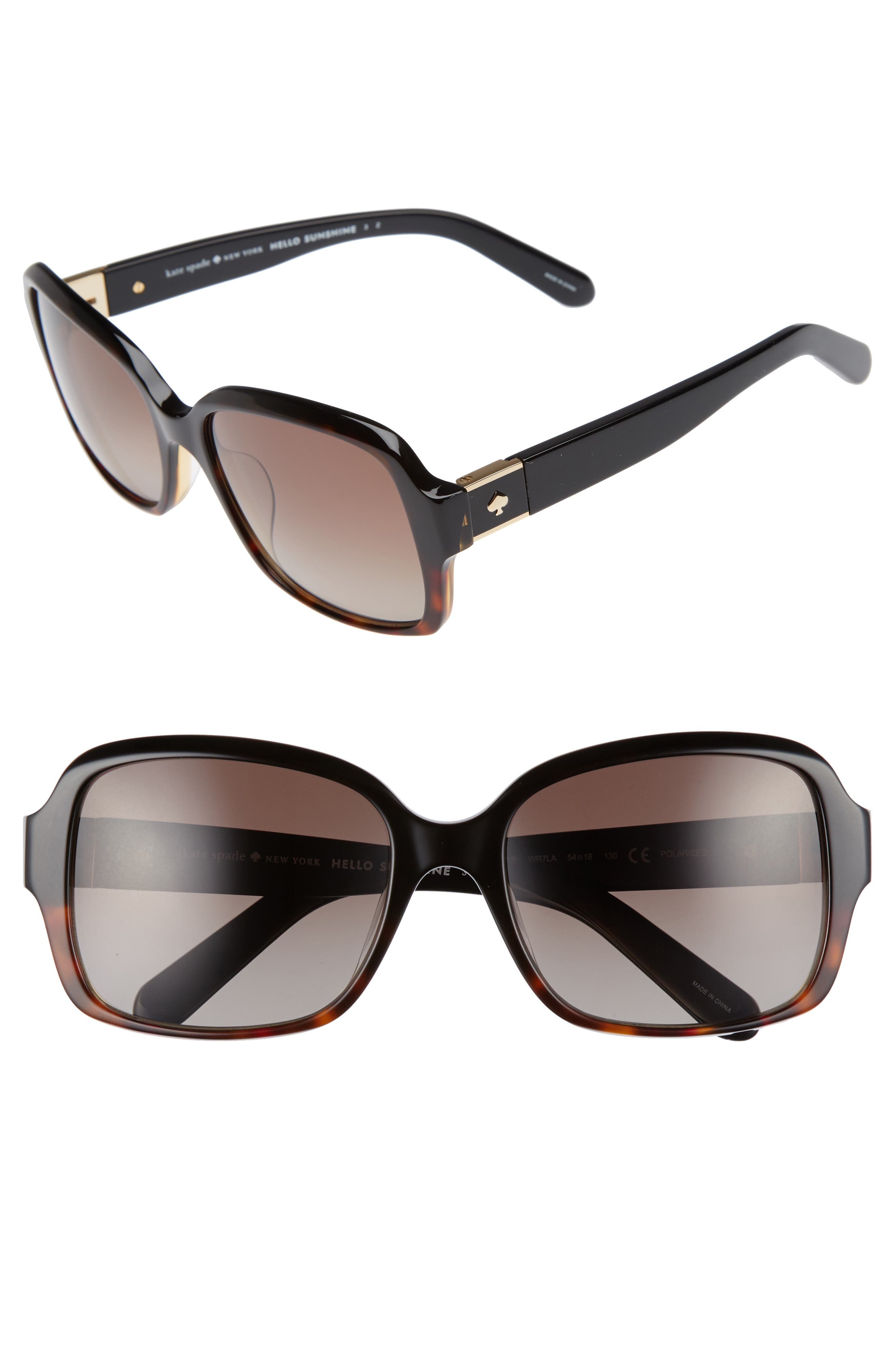 ,                             annor 54mm polarized sunglasses,                             Main thumbnail 3, color,                             002