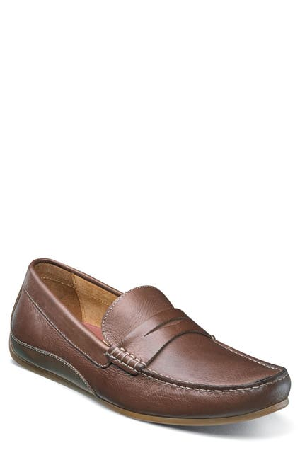 Image of Florsheim Oval Slip-On Leather Penny Driver