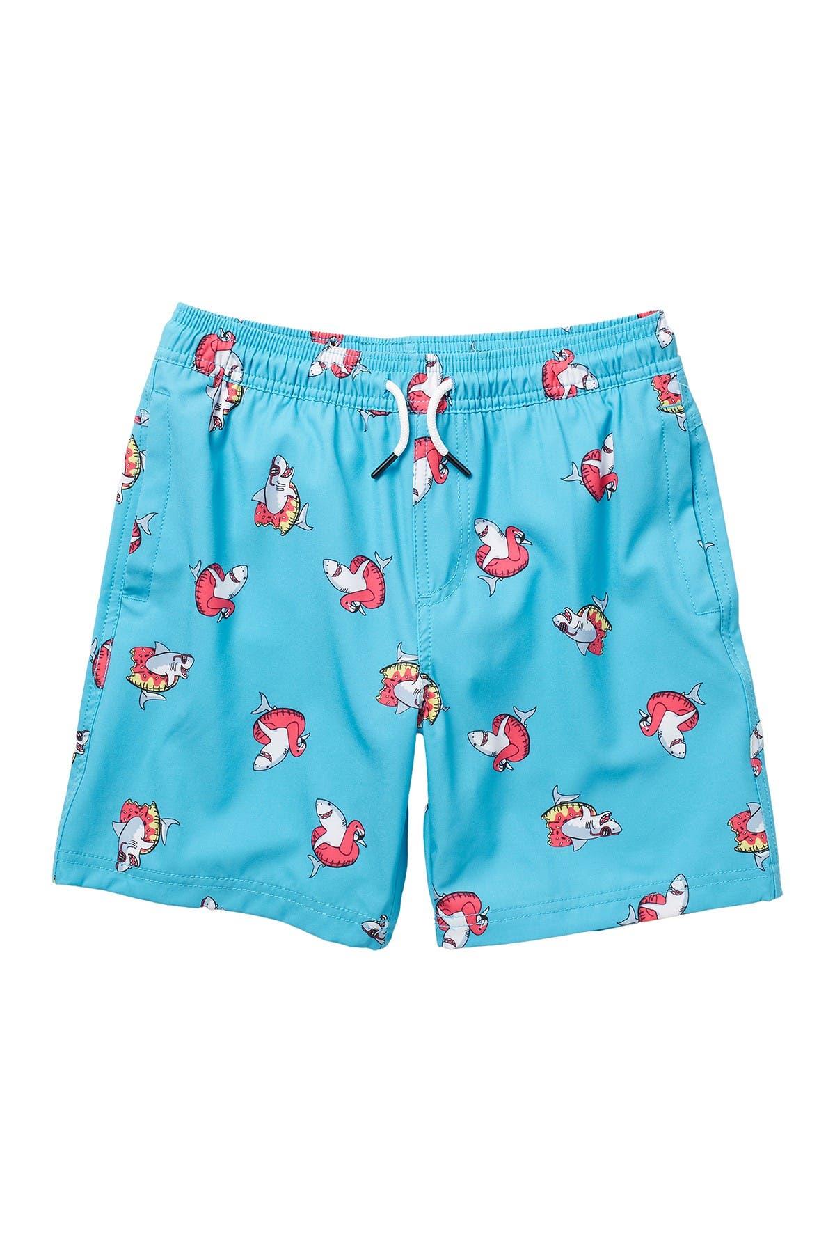 Image of Sovereign Code Kai Printed Swim Shorts