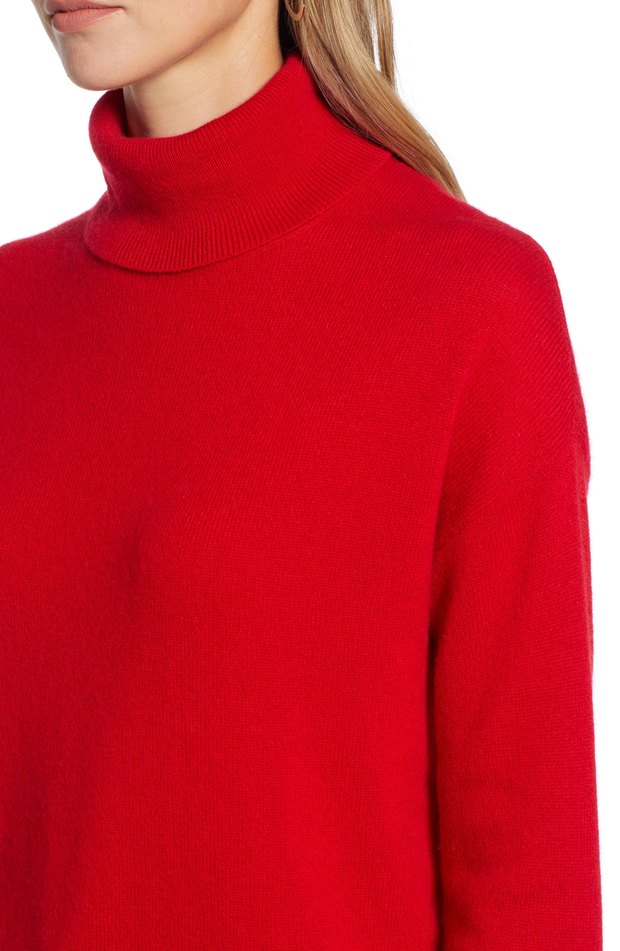 ,                             Cashmere Turtleneck Sweater,                             Alternate thumbnail 34, color,                             610