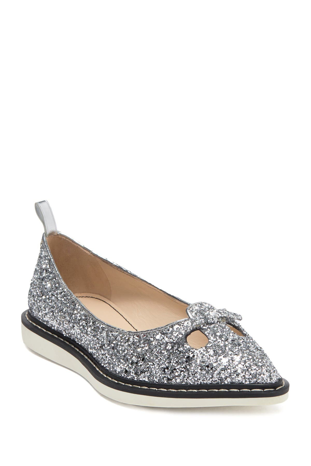 Image of Marc Jacobs The Mouse Shoe Pointy Toe Glitter Loafer
