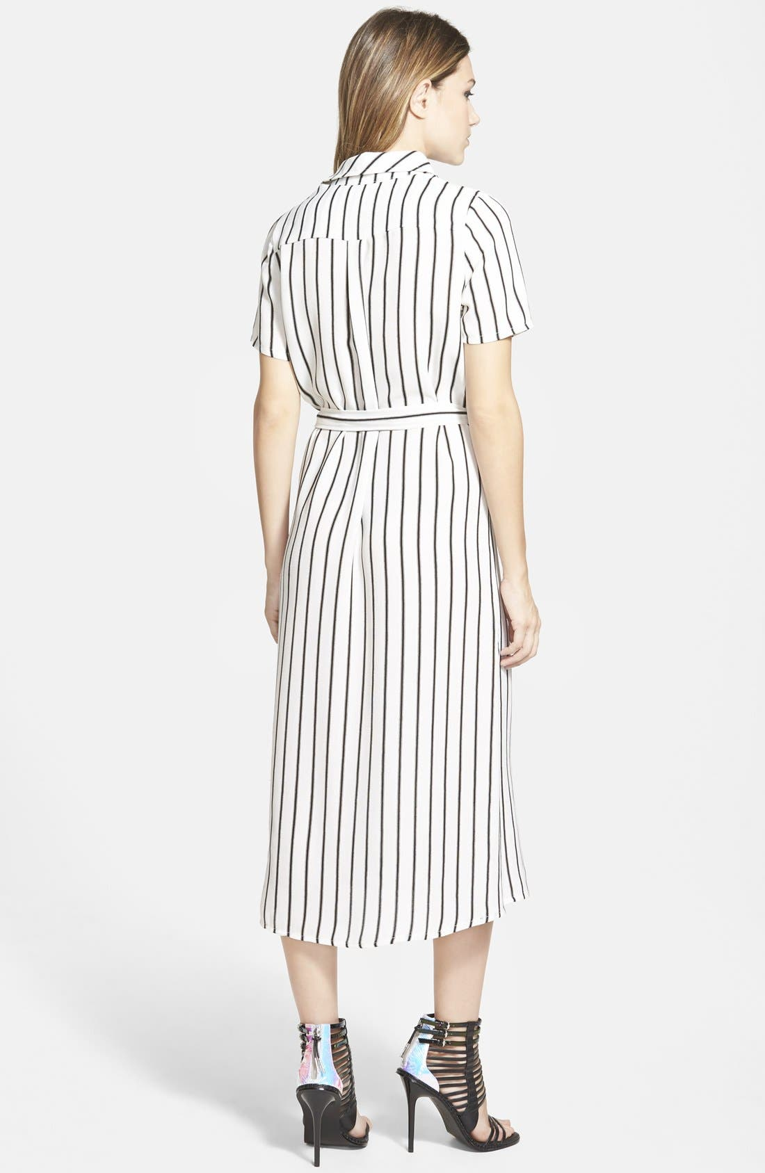 ,                             Belted Shirtdress,                             Alternate thumbnail 2, color,                             001