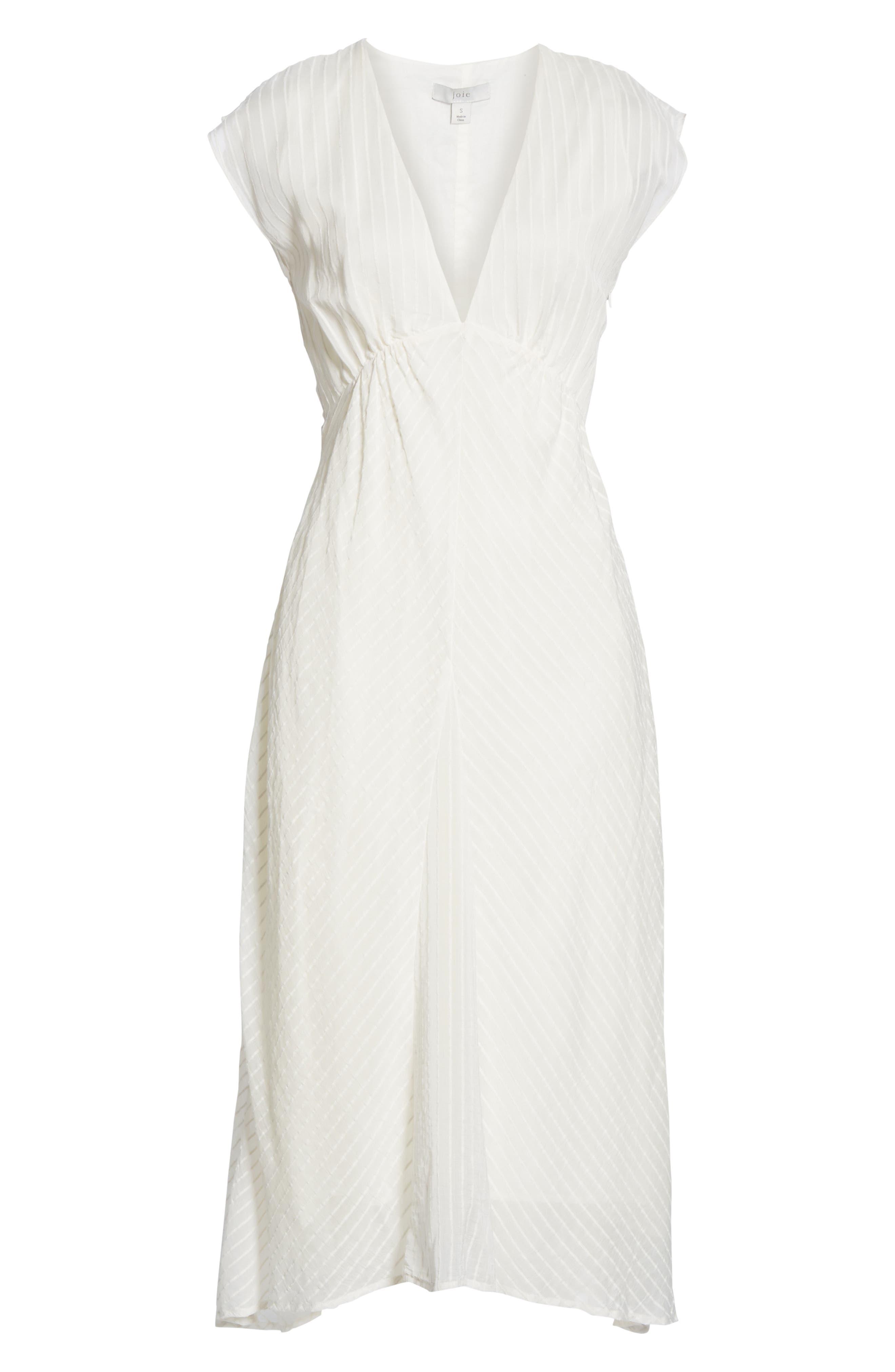 ,                             Shaeryl Midi Dress,                             Alternate thumbnail 7, color,                             PORCELAIN
