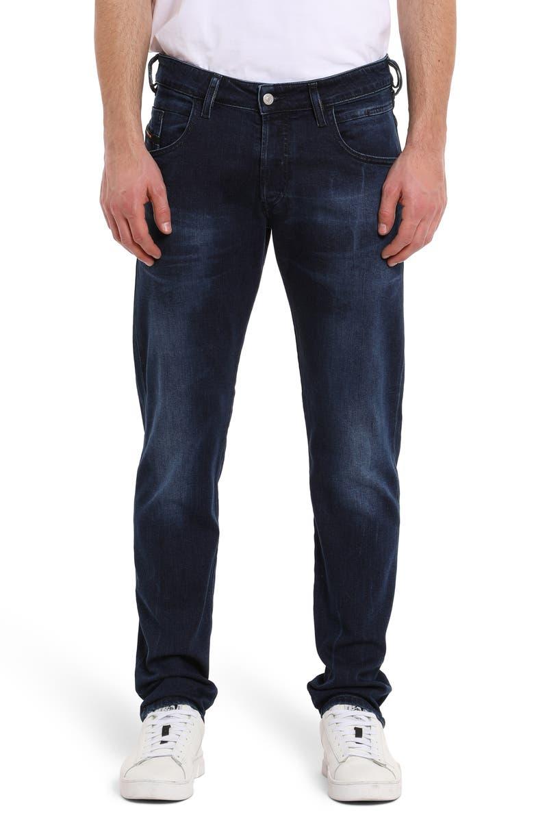 DIESEL D Bazer Slim Fit Jeans Dark Rinse
